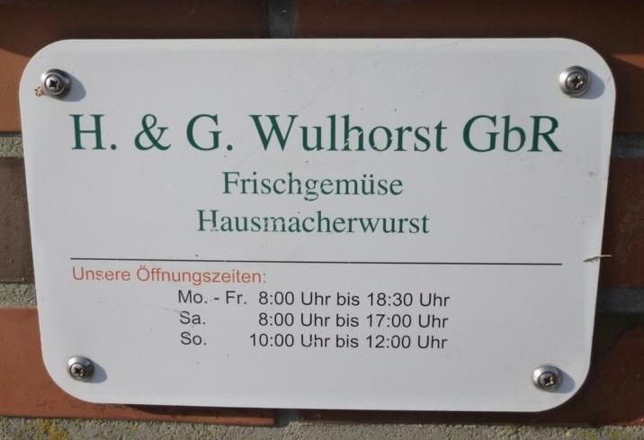 Öffungszeiten Hofladen Wulhorst Waltrop