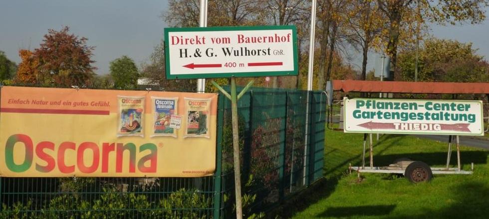 Anfahrt Hofladen Wuhlhorst Waltrop
